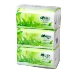 心相印抽纸 茶语系列卫生纸纸巾(3包200抽)