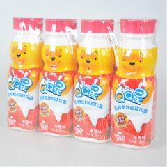 伊利QQ星 一板(4瓶) 草莓味