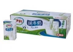 伊利无菌砖纯牛奶