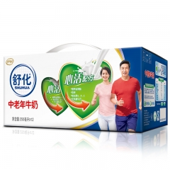 舒化中老年心活配方牛奶(250ml*12)