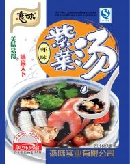 恋味 汤料 66g 虾味紫菜汤