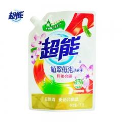 超能植翠低泡洗衣液 鲜艳亮丽(1kg)