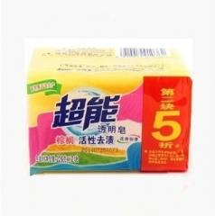 超能 棕榈洗衣皂 226*2 (第二块五折)