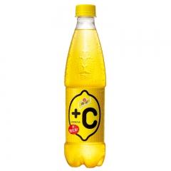 怡泉+C 柠檬味 汽水500ml