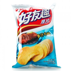 好丽友薯片 75g 烤翅味