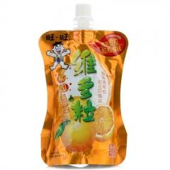 旺旺旺仔维C多粒果冻爽可吸果冻果汁饮品 150g 香橙味
