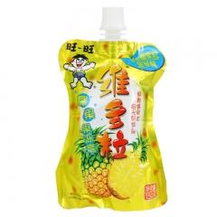 旺旺旺仔维C多粒果冻爽可吸果冻果汁饮品 150g 菠萝味