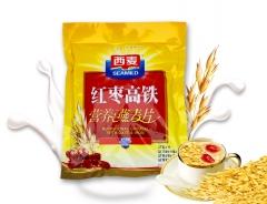 西麦红枣高铁营养燕麦片700g