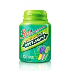 绿箭口香糖薄荷味混合40粒瓶装64g清新口气 清凉冰爽口味