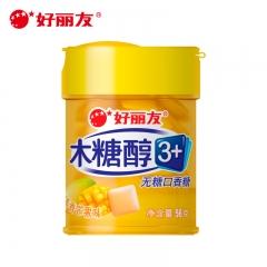好丽友 木糖醇 香甜蜜桃味 56克