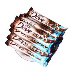 德芙 巧丝 轻柔夹心威化巧克力 22.5g一条