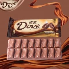 德芙 巧克力 排块单条装 80g 牛奶巧克力