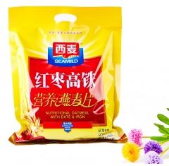 西麦红枣高铁营养燕麦片