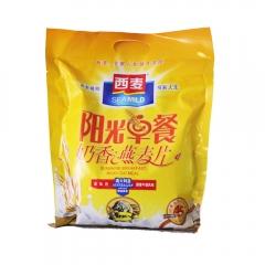 西麦阳光早餐奶香味燕麦片700g  1*20袋