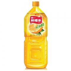 统一 鲜橙多  多C多漂亮 橙汁饮料 补充维生素 一瓶 2l