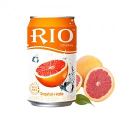 RIO锐澳(罐装)鸡尾酒 330ml 西柚味 伏特加