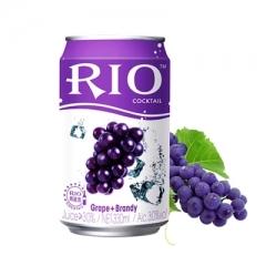 RIO锐澳(罐装)鸡尾酒 330ml 葡萄味 白兰地