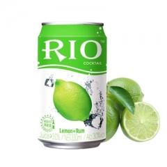 RIO锐澳(罐装)鸡尾酒 330ml 柠檬味 朗姆