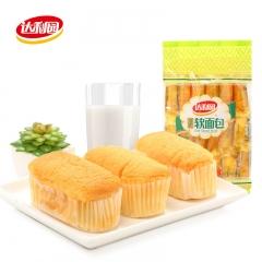 达利园 早餐面包糕点 办公休闲零食 法式软面包香橙味18枚 360g