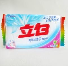 立白椰油精华增白皂