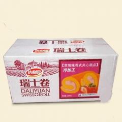 达利园瑞士卷香蕉/橙汁/草莓三种口味 2500g 草莓味