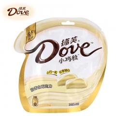 德芙巧克力分享装 84g 奶香白巧克力 84g