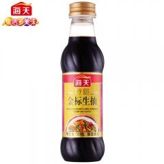 海天特级金标生抽500ml 非转基因黄豆 酿造酱油