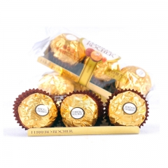 意大利费列罗500本金6期怎么倍投巧克力 3粒装