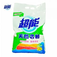 超能天然皂粉  馨香柔软 低泡天然椰油 2.258kg