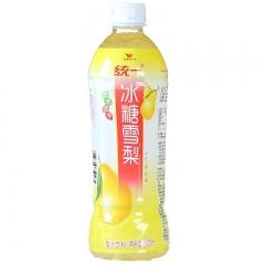 统一 冰糖雪梨(梨汁饮料)500ml 一瓶 500ml