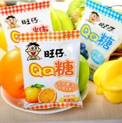 旺仔QQ糖    水果汁维生素软糖橡皮糖果 青苹果 23g