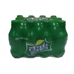 雪碧柠檬味汽水碳酸饮料随身装可口可乐产品 300ml 一件(12瓶)