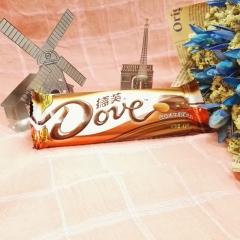 德芙巧克力 巴旦木牛奶巧克力 43g