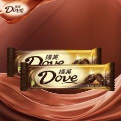 德芙巧克力 丝滑牛奶巧克力 43g