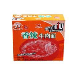 统一香辣牛肉面 一箱24袋 100克