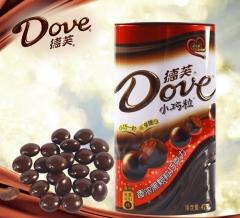 德芙小巧粒 浓黑巧克力 42g