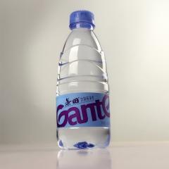景田饮用纯净水 一瓶 360ml