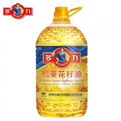 多力葵花籽油5L黄金3益葵花籽油