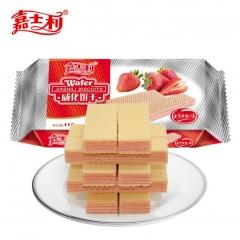 嘉士利威化饼干 115g 草莓味