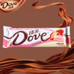 德芙曲奇白巧克力草莓味  42g
