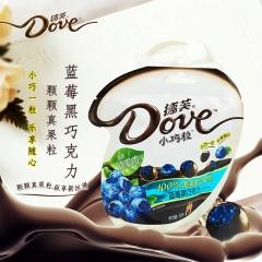 德芙小巧粒巧克力袋装 30g 蓝莓真果肉