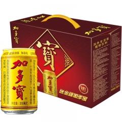 正宗金罐加多宝凉茶  礼盒装 一提(12罐) 310ml
