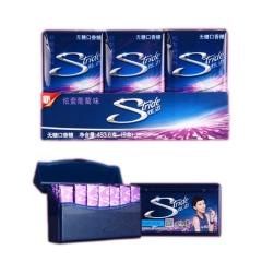 炫迈无糖口香糖炫紫葡萄味28片 50.4g