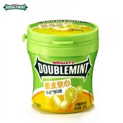 绿箭脆皮软心薄荷糖(柠檬薄荷味)瓶装80g