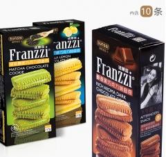 法丽兹 夹心巧克力 曲奇饼干 115g 酸奶味