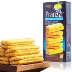 法丽兹 夹心巧克力 曲奇饼干 115g 香草柠檬