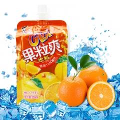 喜之郎果粒爽 350ml 香橙味