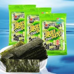 喜之郎 美好时光海苔27g(4.5g*6袋)原味即食紫菜