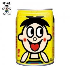 旺仔牛奶 果汁味黄罐铁罐 245ml 复原乳品 一瓶 果汁