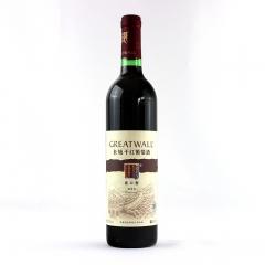 长城干红葡萄酒出口型 解百纳红酒750ml